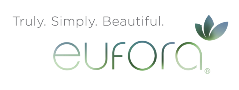 eufora logo riverside hair salon